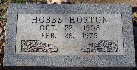 HORTON, HOBBS - Conway County, Arkansas | HOBBS HORTON - Arkansas Gravestone Photos