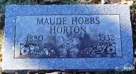 HOBBS HORTON, MAUDE - Conway County, Arkansas | MAUDE HOBBS HORTON - Arkansas Gravestone Photos