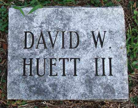 HUETT III, DAVID W - Conway County, Arkansas | DAVID W HUETT III - Arkansas Gravestone Photos
