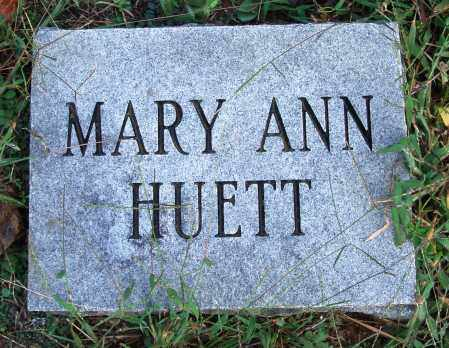 HUETT, MARY ANN - Conway County, Arkansas | MARY ANN HUETT - Arkansas Gravestone Photos