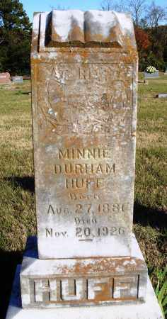 HUFF, MINNIE - Conway County, Arkansas | MINNIE HUFF - Arkansas Gravestone Photos