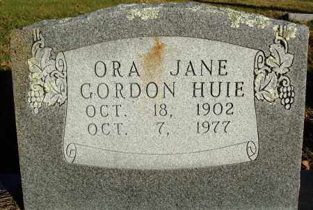 GORDON HUIE, ORA JANE - Conway County, Arkansas | ORA JANE GORDON HUIE - Arkansas Gravestone Photos