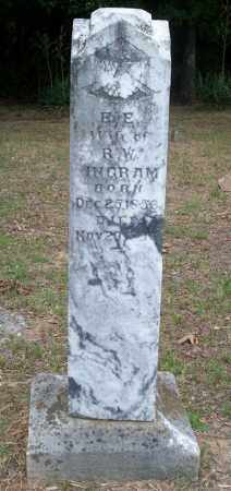 INGRAM, ELLEN E - Conway County, Arkansas | ELLEN E INGRAM - Arkansas Gravestone Photos
