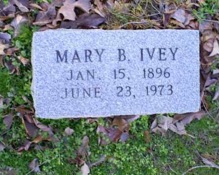 IVEY, MARY B. - Conway County, Arkansas | MARY B. IVEY - Arkansas Gravestone Photos