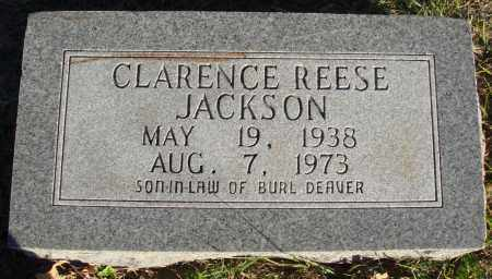 JACKSON, CLARENCE REESE - Conway County, Arkansas | CLARENCE REESE JACKSON - Arkansas Gravestone Photos