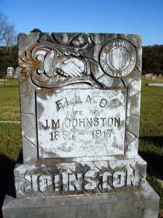 JOHNSTON, ELLA O. - Conway County, Arkansas | ELLA O. JOHNSTON - Arkansas Gravestone Photos