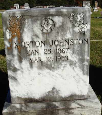 JOHNSTON, J. MORTON - Conway County, Arkansas | J. MORTON JOHNSTON - Arkansas Gravestone Photos