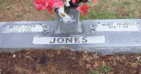 SAVAGE JONES, MARY FRANCES - Conway County, Arkansas | MARY FRANCES SAVAGE JONES - Arkansas Gravestone Photos