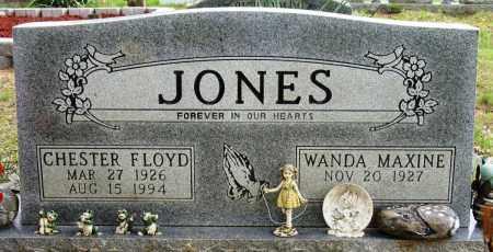 JONES, CHESTER FLOYD - Conway County, Arkansas | CHESTER FLOYD JONES - Arkansas Gravestone Photos