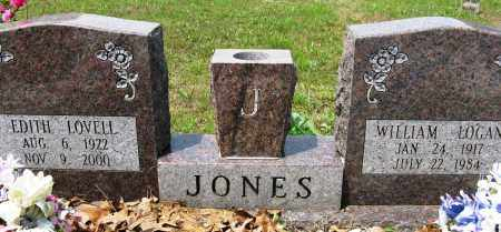 JONES, WILLIAM LOGAN - Conway County, Arkansas | WILLIAM LOGAN JONES - Arkansas Gravestone Photos