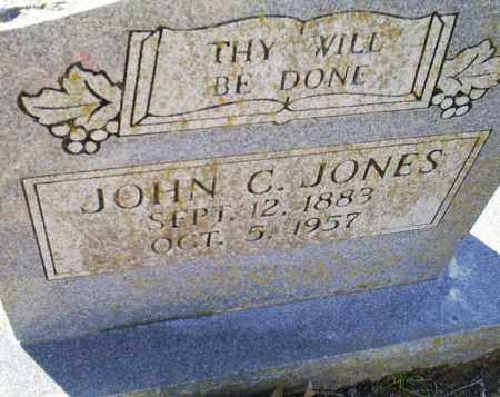 JONES, JOHN C. - Conway County, Arkansas | JOHN C. JONES - Arkansas Gravestone Photos