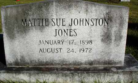 JOHNSTON JONES, MATTIE SUE - Conway County, Arkansas | MATTIE SUE JOHNSTON JONES - Arkansas Gravestone Photos