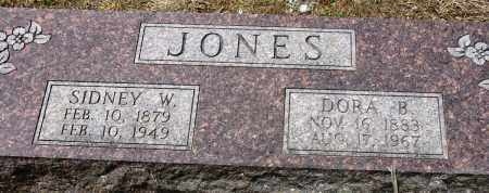 JONES, DORA B - Conway County, Arkansas | DORA B JONES - Arkansas Gravestone Photos