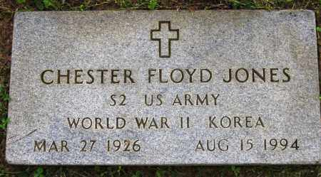 JONES (VETERAN 2 WARS), CHESTER FLOYD - Conway County, Arkansas | CHESTER FLOYD JONES (VETERAN 2 WARS) - Arkansas Gravestone Photos