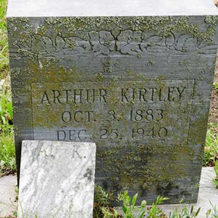 KIRTLEY, ARTHUR - Conway County, Arkansas | ARTHUR KIRTLEY - Arkansas Gravestone Photos