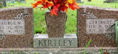 KIRTLEY, GEORGE W - Conway County, Arkansas | GEORGE W KIRTLEY - Arkansas Gravestone Photos