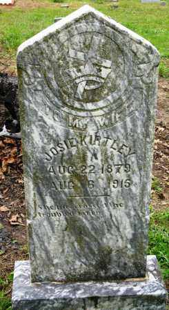 KIRTLEY, JOSIE - Conway County, Arkansas | JOSIE KIRTLEY - Arkansas Gravestone Photos