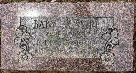 KISSIRE, BABY - Conway County, Arkansas | BABY KISSIRE - Arkansas Gravestone Photos
