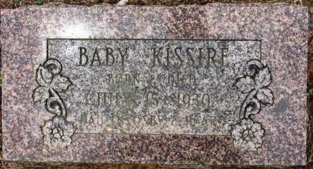 KISSIRE, BABY - Conway County, Arkansas   BABY KISSIRE - Arkansas Gravestone Photos