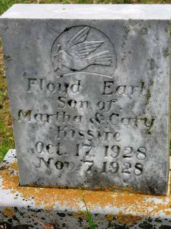 KISSIRE, FLOYD EARL - Conway County, Arkansas | FLOYD EARL KISSIRE - Arkansas Gravestone Photos