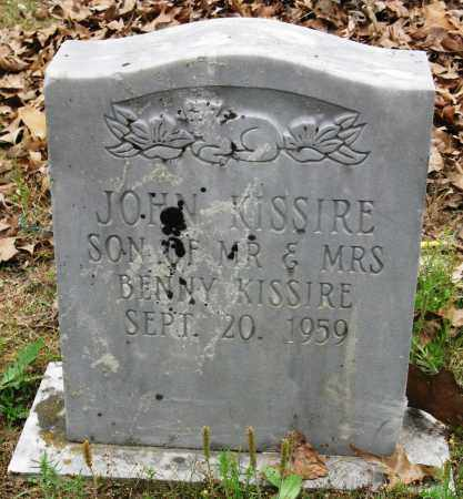 KISSIRE, JOHN - Conway County, Arkansas | JOHN KISSIRE - Arkansas Gravestone Photos