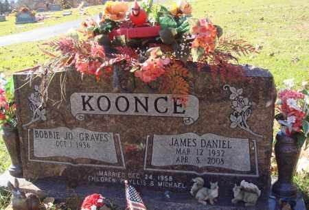 KOONCE, JAMES DANIEL - Conway County, Arkansas | JAMES DANIEL KOONCE - Arkansas Gravestone Photos