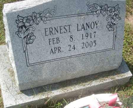 LANOY, ERNEST - Conway County, Arkansas | ERNEST LANOY - Arkansas Gravestone Photos