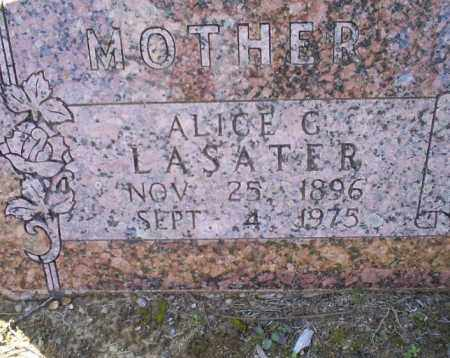 LASATER, ALICE G. - Conway County, Arkansas | ALICE G. LASATER - Arkansas Gravestone Photos