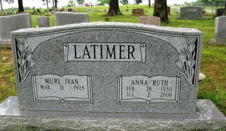 LATIMER, ANNA RUTH - Conway County, Arkansas | ANNA RUTH LATIMER - Arkansas Gravestone Photos