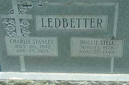 STELL LEDBETTER, MOLLIE (MARY JANE) - Conway County, Arkansas | MOLLIE (MARY JANE) STELL LEDBETTER - Arkansas Gravestone Photos