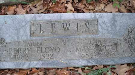 LEWIS, PERRY FLOYD - Conway County, Arkansas | PERRY FLOYD LEWIS - Arkansas Gravestone Photos
