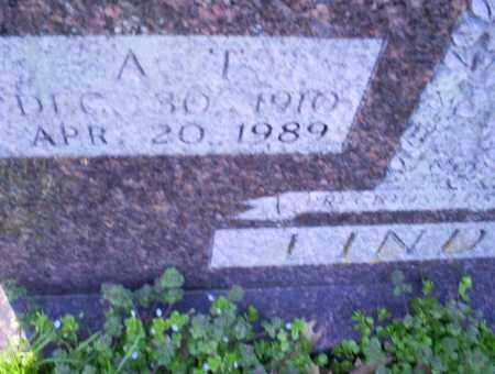 LINDSEY, A. T. - Conway County, Arkansas   A. T. LINDSEY - Arkansas Gravestone Photos