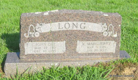 LONG, JOHN DEE - Conway County, Arkansas | JOHN DEE LONG - Arkansas Gravestone Photos