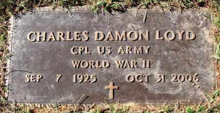 LOYD  (VETERAN WWII), CHARLES DAMON - Conway County, Arkansas | CHARLES DAMON LOYD  (VETERAN WWII) - Arkansas Gravestone Photos