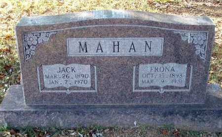 MAHAN, FRONA (SAPHRONIA E.) - Conway County, Arkansas | FRONA (SAPHRONIA E.) MAHAN - Arkansas Gravestone Photos