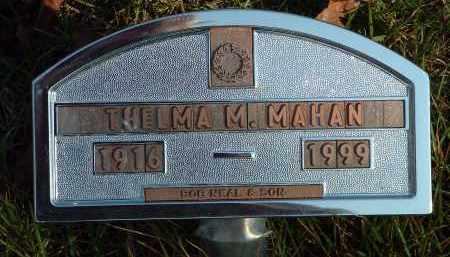 MAHAN, THELMA M. - Conway County, Arkansas | THELMA M. MAHAN - Arkansas Gravestone Photos