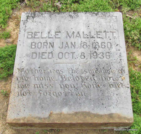 "MALLETT, MARGARET ISABELLA ""BELLE"" - Conway County, Arkansas 