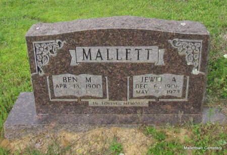 MALLETT, BEN M. - Conway County, Arkansas | BEN M. MALLETT - Arkansas Gravestone Photos
