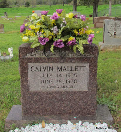 MALLETT, CALVIN SOCRATES - Conway County, Arkansas | CALVIN SOCRATES MALLETT - Arkansas Gravestone Photos