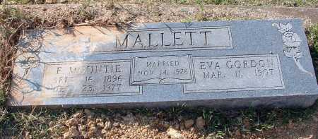 "MALLETT, ELBERT MONTIQUE ""E. MOUNTIE"" - Conway County, Arkansas 