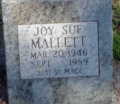 MALLETT, JOY SUE - Conway County, Arkansas | JOY SUE MALLETT - Arkansas Gravestone Photos