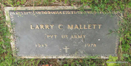 MALLETT  (VETERAN), LARRY C - Conway County, Arkansas | LARRY C MALLETT  (VETERAN) - Arkansas Gravestone Photos