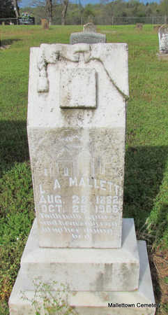 MALLETT, LULA ABBIE - Conway County, Arkansas | LULA ABBIE MALLETT - Arkansas Gravestone Photos