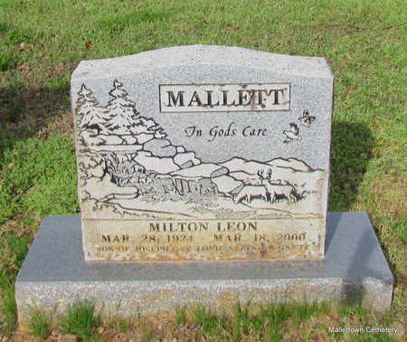 MALLETT, MILTON LEON - Conway County, Arkansas | MILTON LEON MALLETT - Arkansas Gravestone Photos
