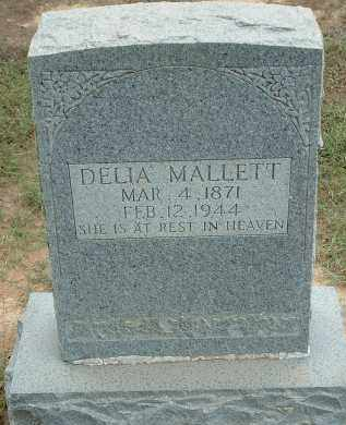 MILLER MALLETT, MARY CORDELIA (DELIA) - Conway County, Arkansas | MARY CORDELIA (DELIA) MILLER MALLETT - Arkansas Gravestone Photos