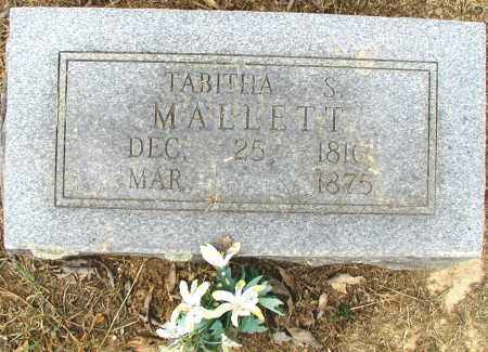 MALLETT, MATILDA TABITHA - Conway County, Arkansas | MATILDA TABITHA MALLETT - Arkansas Gravestone Photos