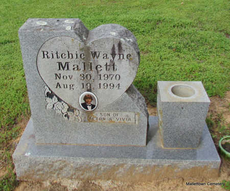 MALLETT, RITCHIE WAYNE - Conway County, Arkansas | RITCHIE WAYNE MALLETT - Arkansas Gravestone Photos
