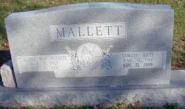 MALLETT, RUTHA MAE - Conway County, Arkansas | RUTHA MAE MALLETT - Arkansas Gravestone Photos
