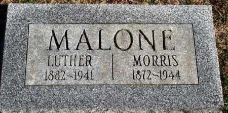 MALONE, MORRIS - Conway County, Arkansas | MORRIS MALONE - Arkansas Gravestone Photos