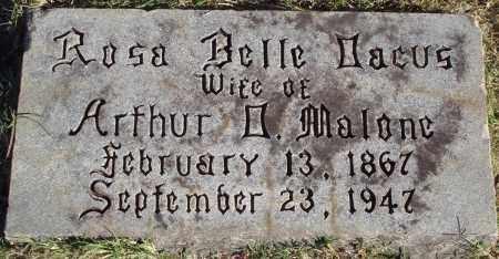 MALONE, ROSA BELLE - Conway County, Arkansas | ROSA BELLE MALONE - Arkansas Gravestone Photos